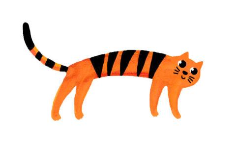 スジャータ寺猫
